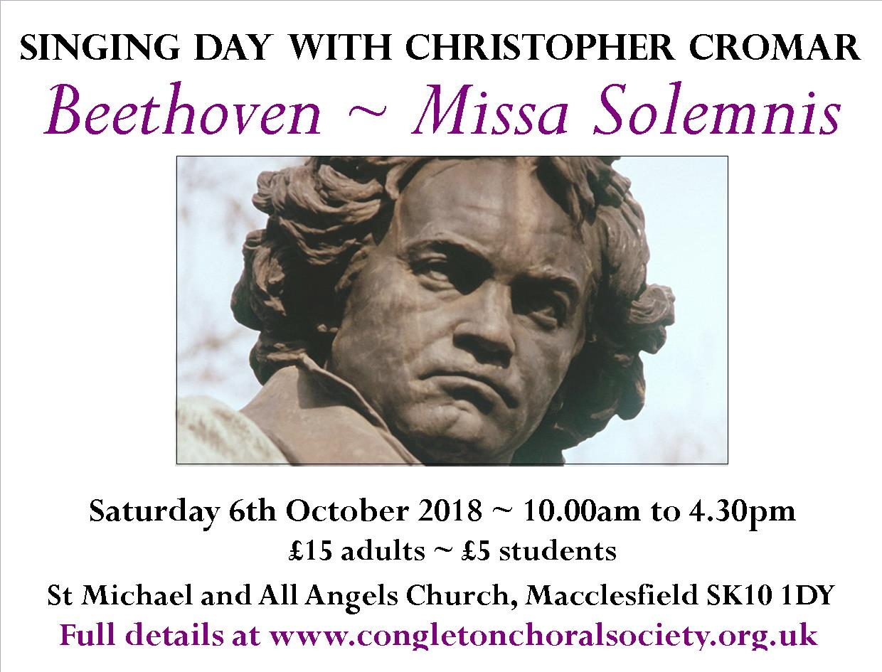 Missa Solemnis Singing Day