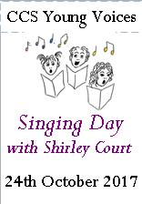 Shirley Court singing day