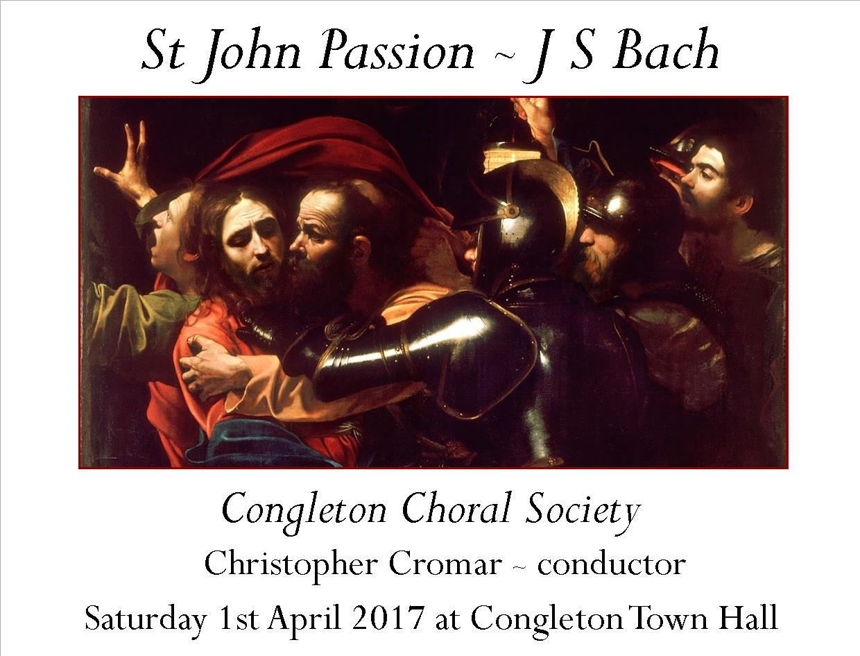 St John Passion April 2017