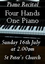 Four Hands One Piano