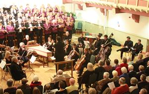 The Choir and Orchestra Perform Messiah